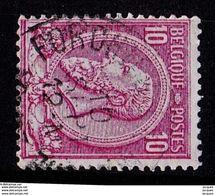 N° 46 OBL  FORCHIES - 1884-1891 Léopold II