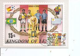Drapeaux - Football  ( CM Du Lesotho De 1982 à Voir) - Buste