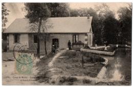 CPA 10 - CAMP DE MAILLY (Aube) - 23. Usine élévatoire N°1 Et Canal D'amenée - Mailly-le-Camp