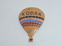 Pin's KODAK, LA MONTGOLFIERE - Fotografía