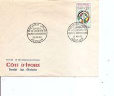 Drapeaux  ( FDC De Cote D'Ivoire De 1960 à Voir) - Covers