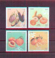 Algeria/Algerie 2017 -  Fruits Of Algeria - Stamps 4v - Complete Set - MNH** Excellent Quality - Algeria (1962-...)