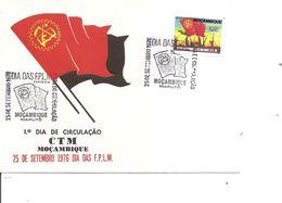 Drapeaux  ( FDC De L'Angola De 1976 à Voir) - Covers