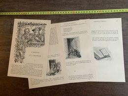 CONTE FLAMAND 1885 HISTOIRE CANETTE ET CHOPINE LILLE JOSEPH VAN POUKE GAMBRINUS - Collections