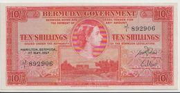 BERMUDA P. 19b 5 D 1957 VF - Bermudes