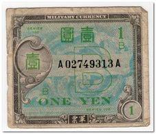 JAPAN,1 YEN,1945,P.67a,FINE - Japan