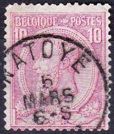 N° 46    OBL NATOYE - 1884-1891 Léopold II