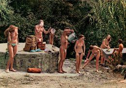 ILE DU LEVANT Toilette Matinale Des Naturistes - France