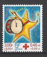 FRANCE 1999 TIMBRE 3288a CROIX ROUGE TIMBRE ISSUS CARNET  ETOILE S APPRETANT A FRAPPER LES DOUZE COUPS DE MINUIT - Ungebraucht
