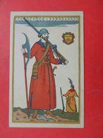 BILIBIN 1910th CSagittarius, Costume For Opera Boris Godunov. Russian Postcard - Rusland