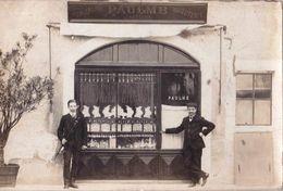 Carte Photo  Annecy (74) Rarissime Boutique Du Bijoutier Paulme Photo Favrat   Voyagée 1912 - Lieux