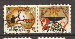 2000  174  SYDNEY  BOSNIEN HERZEGOWINA REPUBLIKA SRPSKA  OLYMPIADE   Bascet  Used INTERESSANT - Bosnia Herzegovina