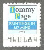 Tommy Page Singer POP ROCK Music LP Vinyl Voucher Coupon LABEL CINDERELLA VIGNETTE 1990 USA Sire - Music