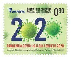 BOSNIA  COVID  19  /MNH/ - Bosnia Herzegovina