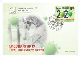 BOSNIA  COVID  19  FDC - Bosnia Herzegovina