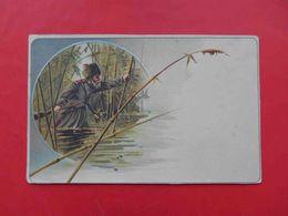 Hunting 1900-th Hunter With A Gun, Rifle. Russian Postcard - Rusland