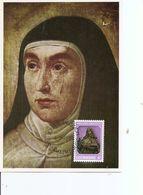 Luxembourg - Sainte Thérèse D'Avila  ( CM De 1982 à Voir) - Cartes Maximum