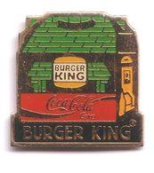C309 Pin's  Coke Coca Cola BURGER KING Achat Immédiat - Coca-Cola