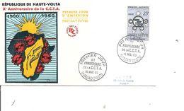 Haute -Volta - CCTA ( FDC De 1960 à Voir) - Haute-Volta (1958-1984)