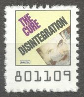 The Cure  Pop Rock Album LP Vinyl Voucher Coupon LABEL CINDERELLA VIGNETTE 1990 USA Elektra - Music