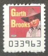 Garth Brooks Country Pop Rock Album LP Vinyl Voucher Coupon LABEL CINDERELLA VIGNETTE 1990 USA Capitol - Music
