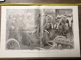 1906 ILL AU SALON DE L AUTOMOBILE DANS UN STAND - Collections