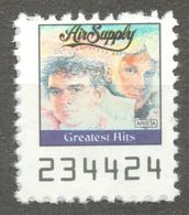 Air Supply AUSTRALIA Pop Rock Album LP Vinyl Voucher Coupon LABEL CINDERELLA VIGNETTE 1990 USA Arista - Music