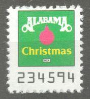 Alabama CHRISTMAS Pop Rock Album LP Vinyl Voucher Coupon LABEL CINDERELLA VIGNETTE 1990 USA RCA - Music
