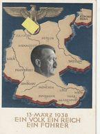 """Deutsches Reich / 1938 / Sonderpostkarte Mi. P 268 Stempel Bregenz """"am 10. April ........."""" (BN20) - Ganzsachen"""