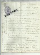 13 - Bouches Du Rhone - Salon - Facture D&G Carcassonne - Huile D'Olives & Amandes - 1882 -Réf.42. - France