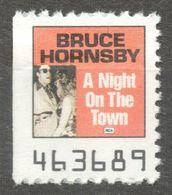 Bruce Randall Hornsby JAZZ Piano Album LP Vinyl Voucher Coupon LABEL CINDERELLA VIGNETTE 1990 USA RCA - Music
