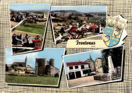 FRONTONAS (38) Les Différents Aspects Du Village Et Le Blason - France