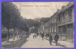 Carte Postale 60. Montataire  Rue Mertian  Très Beau Plan - Montataire