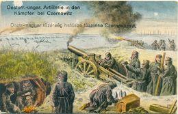 Österr-ungar. Artillerie In Den Kämpfen Bei Czernowitz - Weltkrieg 1914-18