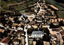COLOMBEY LES DEUX EGLISES - Vue Aérienne - L' Eglise, La Mairie Et La Place - Colombey Les Deux Eglises