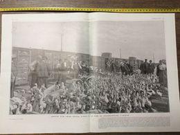 1906 ILL TRAIN SPECIAL D OIES GARE DE FRIEDRICHFELDE BERLIN FOIRE DE SAINT LUC A POITIERS - Collections