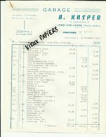 70 - Haute Saone - Port Sur Saone - Facture Kasper - Garage Citroen   - 1973 -Réf.42 - - France