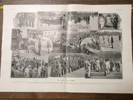 1906 ILL LES BLEUS A LA CASERNE - Collections
