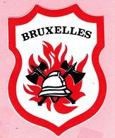 Sticker - BRUXELLES - Brandweer - Stickers
