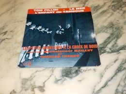 45 TOURS   LES PETITS CHANTEURS MONSEIGNEUR MAILLET ET CHARLE TRENET 1953 - Vinyl Records