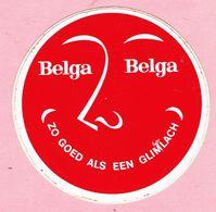 Sticker - Belga - Belga - (ZO GOED ALS EEN GLIMLACH) - Stickers