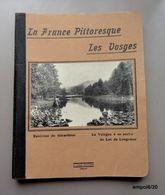 Cahier D'écolier LA FRANCE PITTORESQUE - LES VOSGES -  Manuscrit Octobre 1924/ Mars 1925 - Old Paper