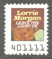 Lorrie Morgan Country Pop Rock Album LP Vinyl Voucher Coupon LABEL CINDERELLA VIGNETTE 1990 USA RCA - Music