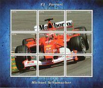 Äthiopien Block Ferrari Michael Schumacher  **/MNH - Cars