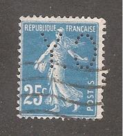 Perforé/perfin/lochung France No 140 C.Y C. Yere - France