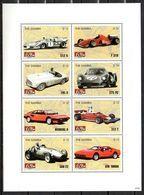 Gambia  Kleinbogen  Mi. 5762/5769   Ferrari  **/MNH - Cars