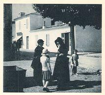 SAINT GEORGES D' OLERON La Place 1937 - Old Paper