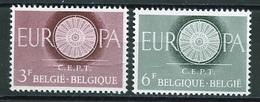 Europa CEPT 1960 Belgique - Belgium - Belgien Y&T N°1150 à 1151 - Michel N°1209 à 1210 *** - Europa-CEPT