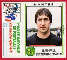 -- LA VACHE QUI RIT / IMAGE AUTOCOLLANT / JEAN-PAUL BERTRAND-DEMANES / FOOTBALL NANTES -- - Chromos