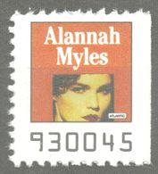 Alannah Myles CANADA Blues Pop Rock Album LP Vinyl Voucher Coupon LABEL CINDERELLA VIGNETTE 1990 USA Atlantic - Music